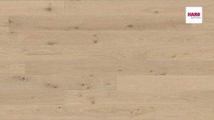 535542 Plank 1-Strip 4V Oak Creme White Sauvage brushed naturaLin plus